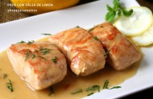 solomillo de pavo con salsa de limon