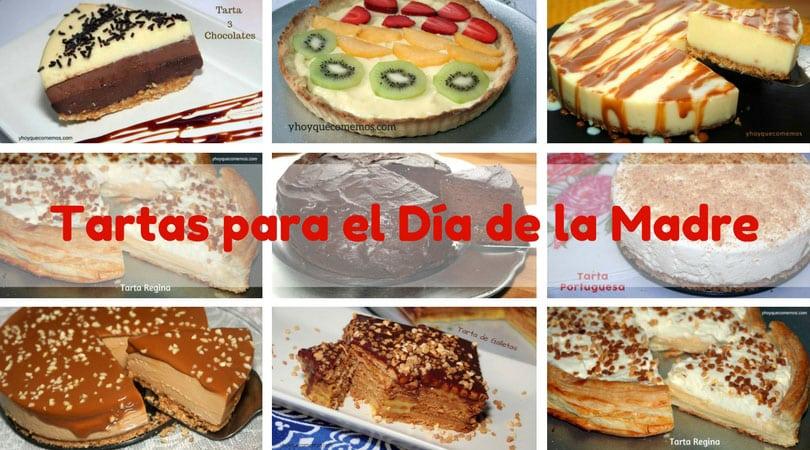 14 tartas para el dia de la madre