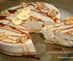 cheesecake de platano 2