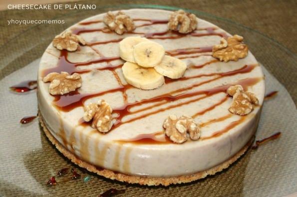 cheesecake de platano