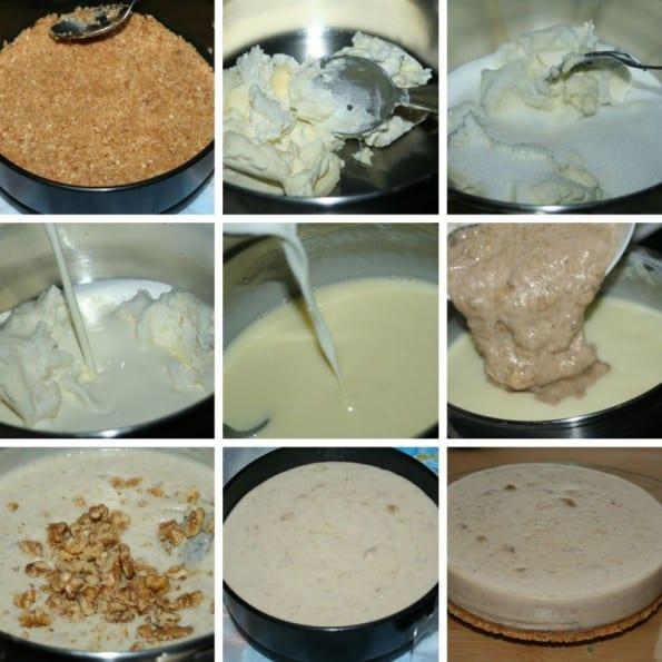receta cheesecake de platano
