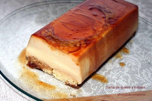 tarta de queso y sobaos (sin horno)