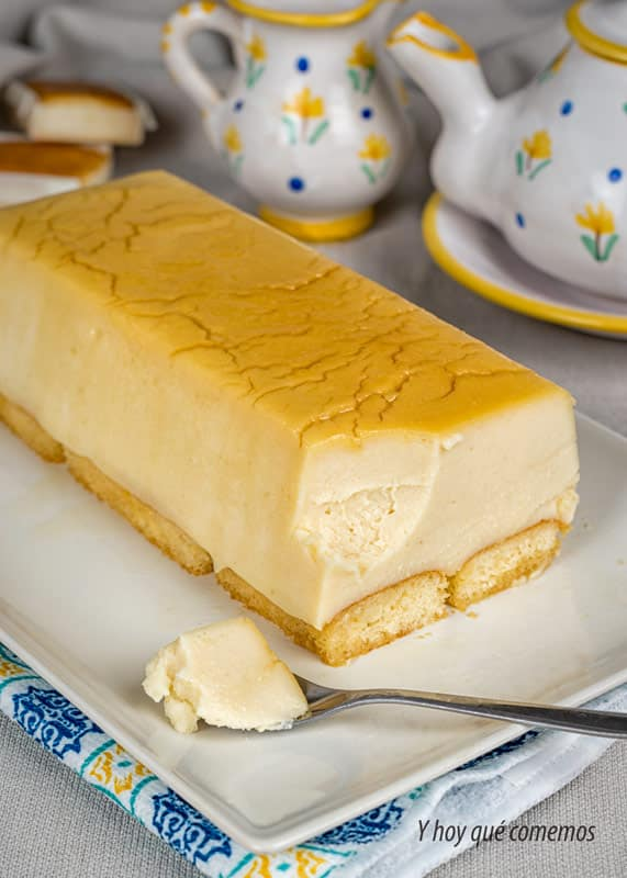 tarta de queso y sobaos (sin horno) dulce facil