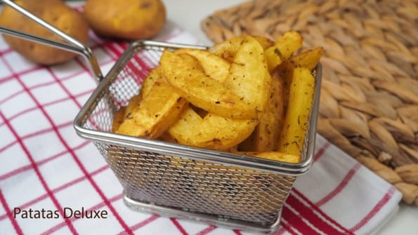 patatas deluxe  saludables tipo mcdonald's