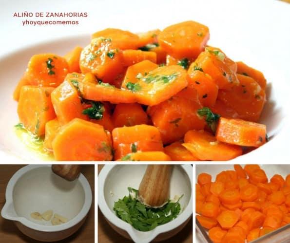 receta aliño de zanahorias