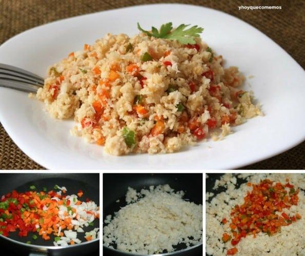 receta cuscus de coliflor