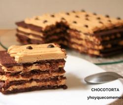 receta Chocotorta (Tarta de Galletas y Dulce de Leche)