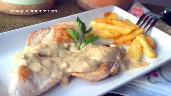 pollo a la mostaza 2