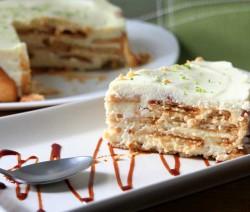 tarta de galletas y lima receta