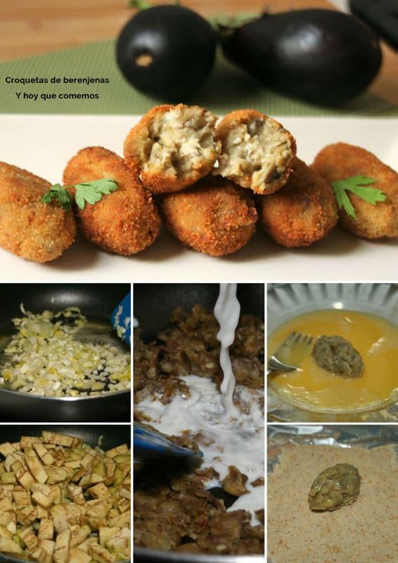 croquetas de berenjenas receta
