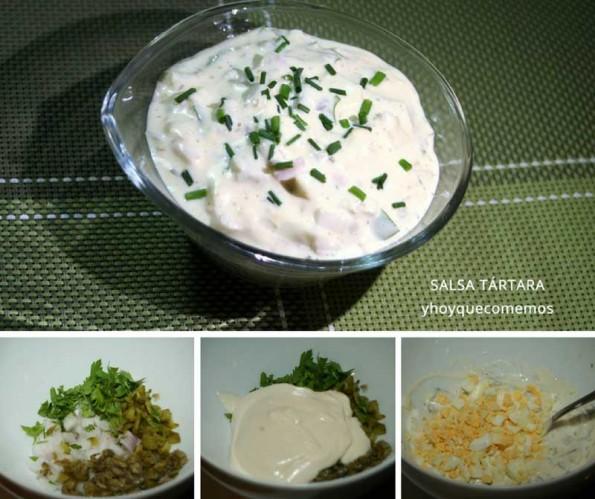 salsa tartara receta