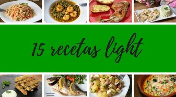 15 recetas light