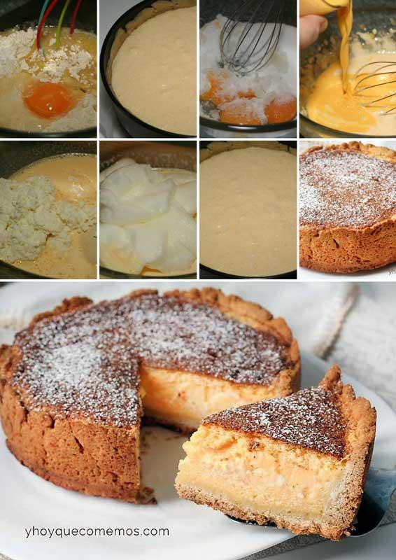 Tarta de queso alemana kasekuchen receta
