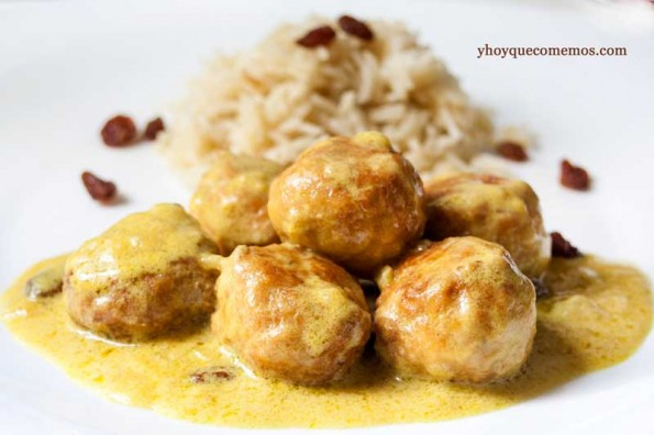 albondigas al curry