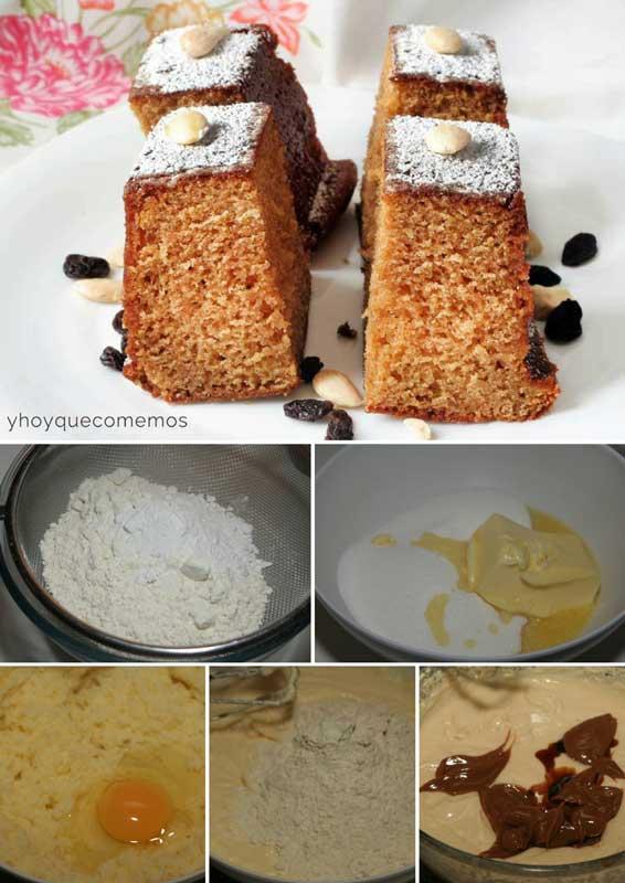 bizcocho de caramelo receta