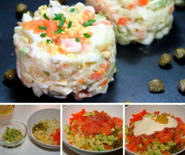 receta ensaladilla de salmon