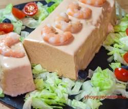 pastel de merluza y langostinos