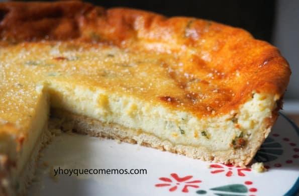 receta del flao o pastel de queso de ibiza 3