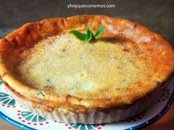 receta del flao o pastel de queso de ibiza