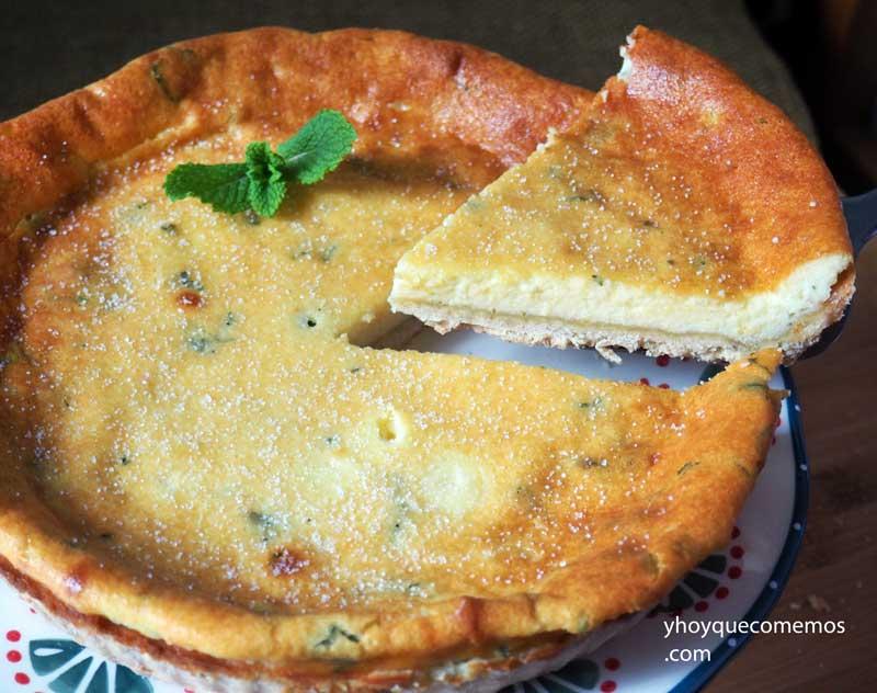 receta del flao o pastel de queso de ibiza 2