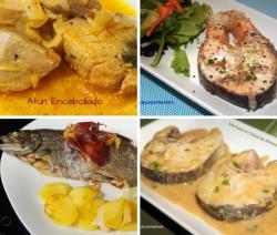 4 recetas de pescados para navidad