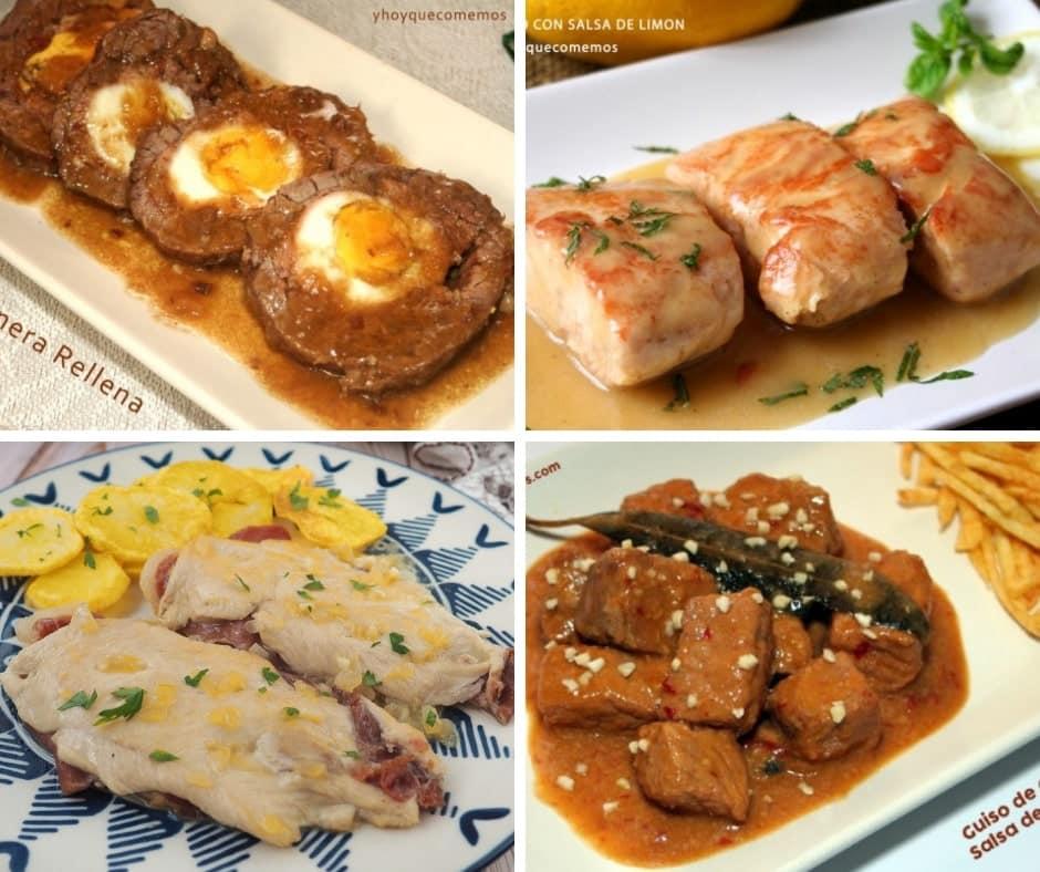 4 recetas de carne para navidad