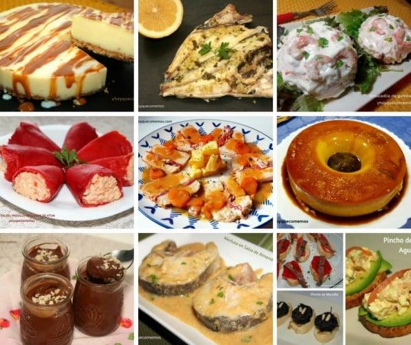Recetas de cocina menus para navidad