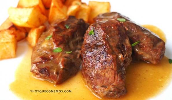 carrilleras de cerdo en salsa receta