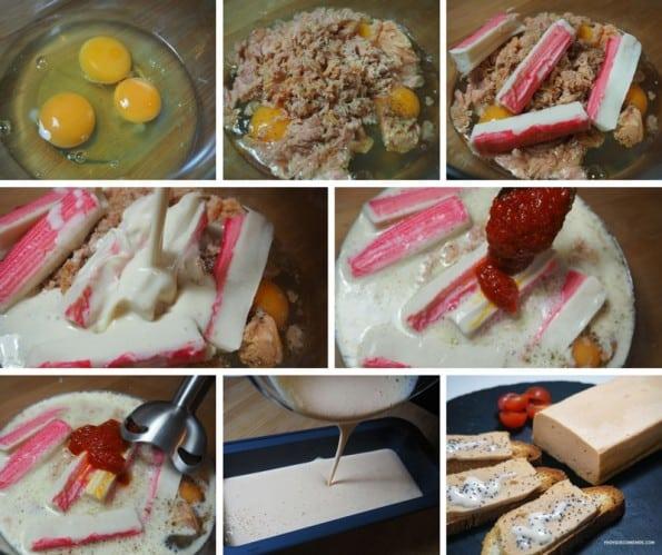 pastel de atun al microondas receta