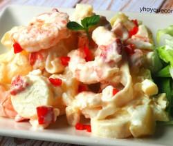 ensaladilla de marisco facil receta