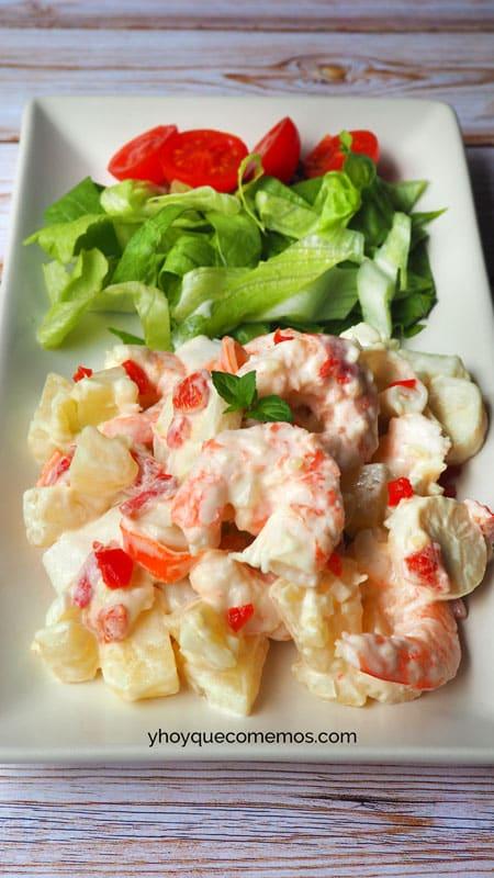 ensaladilla de marisco facil receta 2