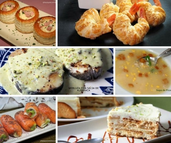 Menu Completo Para Navidad 2 Recetas De Cocina Fácil Y