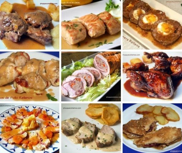 recopilatorio de carnes para navidad