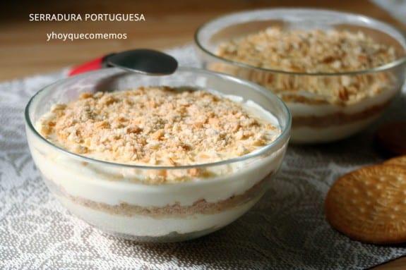 paso a paso receta Tarta serradura portuguesa