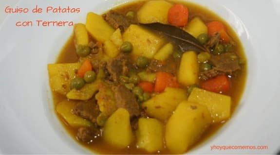 Recetas para la cuesta de enero y hoy qu comemos - Patatas en olla rapida ...