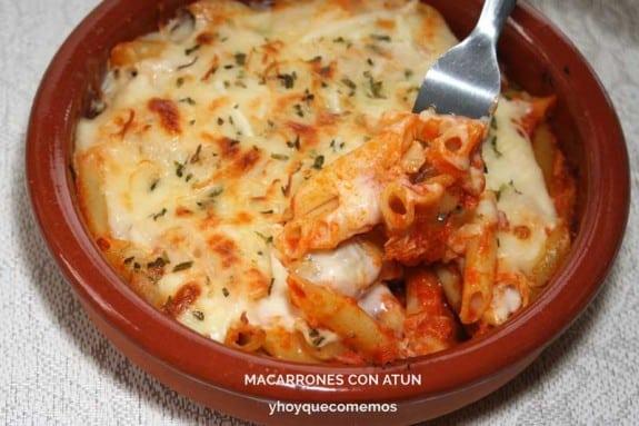 Macarrones Con Atún Y Hoy Que Comemos Recetas De Cocina