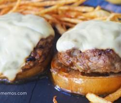 hamburguesas al jerez