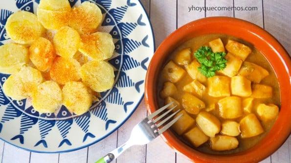 pota en salsa estilo canario 2