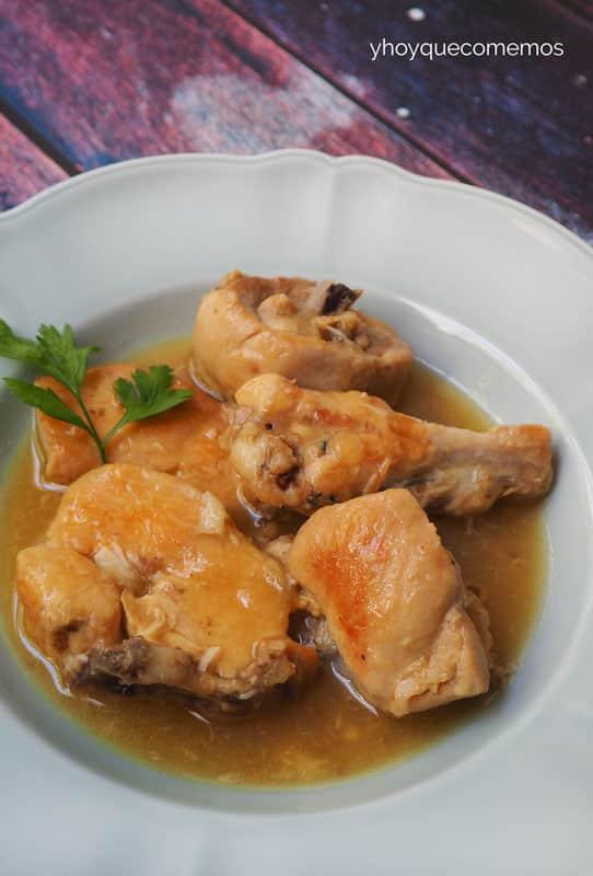 pollo en salsa facil 2