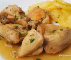 pollo en salsa facil