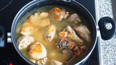 pollo en salsa facil receta 2