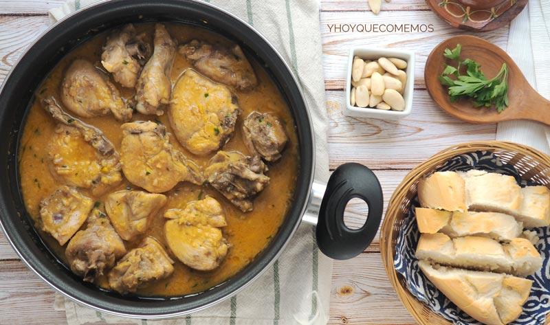 como se hace el pollo a la andaluza