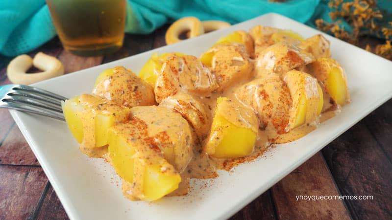 patatas mozarabes