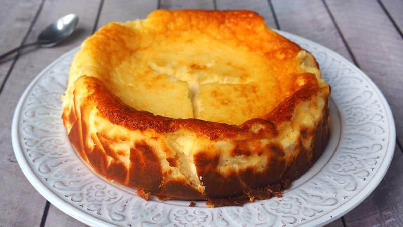 como se hace la tarta de queso la viña