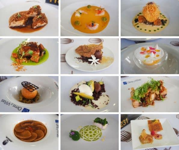 platos-concurso-camarero-granada-semifinal