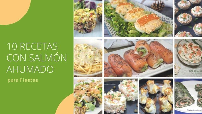 ideas de recetas con salmon ahumado para navidad