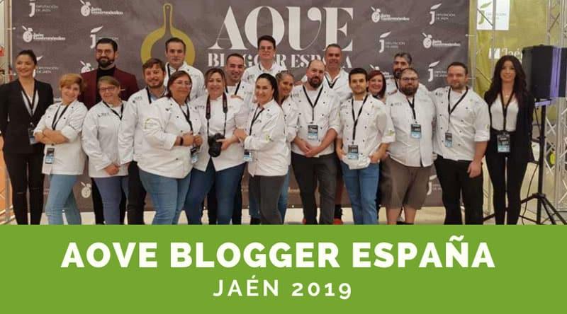 concurso aove blogger jaen 2019