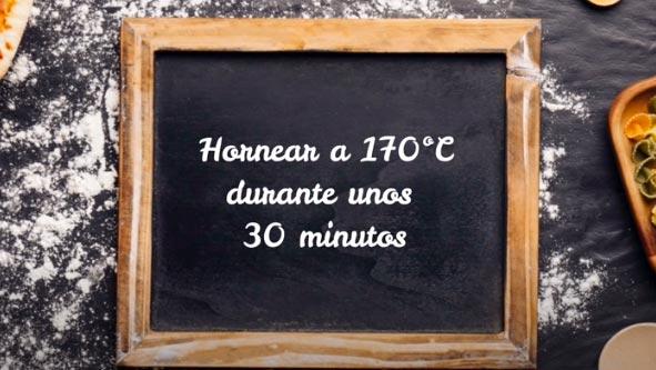 tiempo de horneado y temperatura del pastel de yogur