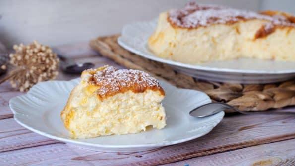 paso a paso pastel de yogur griego