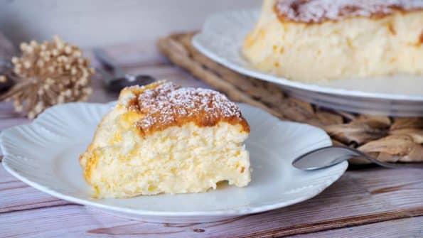 como se hace el pastel de yogur suave y esponjoso